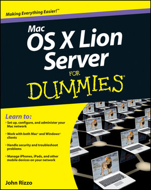 Mac OS X Lion Server For Dummies (1118177487) cover image