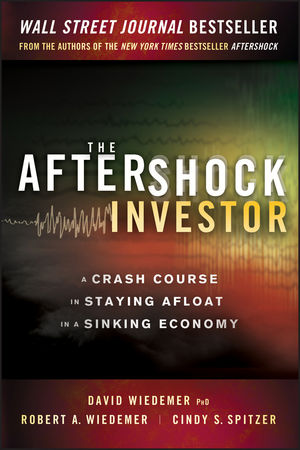 The Aftershock Investor: A Crash Course in Staying Afloat in a Sinking Economy (1118233387) cover image