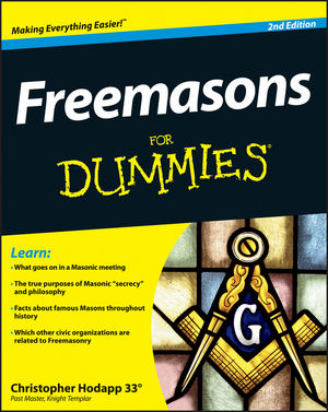 Freemasons For Dummies, 2nd Edition (1118412087) cover image