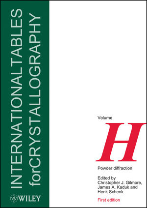 International Tables for Crystallography, Volume H, Powder Diffraction