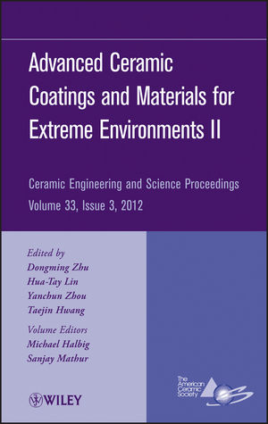 Advanced Ceramic Coatings and Materials for Extreme Environments II, Volume 33, Issue 3 (1118530187) cover image