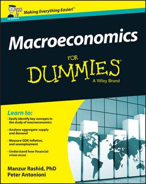 Macroeconomics For Dummies - UK, UK Edition (1119026687) cover image