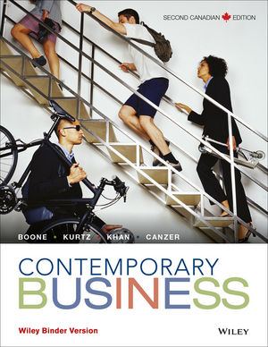 Contemporary Business, 2nd Canadian Edition