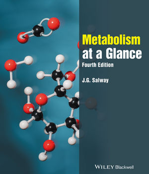 Metabolism at a Glance, 4th Edition (1119277787) cover image
