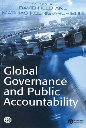 Global Governance and Public Accountability