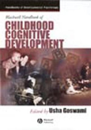 Blackwell Handbook of Childhood Cognitive Development (1405142987) cover image