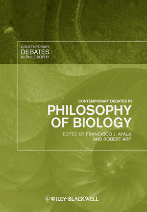 Contemporary Debates in Philosophy of Biology (1405159987) cover image