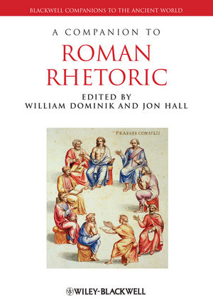 A Companion to Roman Rhetoric (1405171987) cover image