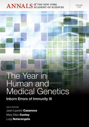 The Year in Human and Medical Genetics: Inborn Errors of Immunity III, Volume 1250