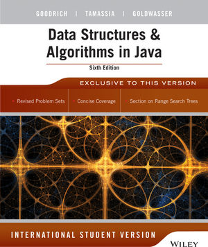 Data Structures and Algorithms in Java 6th Edition International Student Version (EHEP003087) cover image