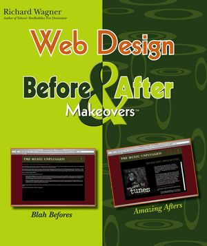 Web Design Before and After Makeovers (0470046988) cover image