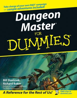 Dungeon Master For Dummies (0470050888) cover image
