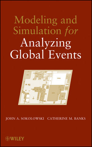 Modeling and Simulation for Analyzing Global Events (0470486988) cover image