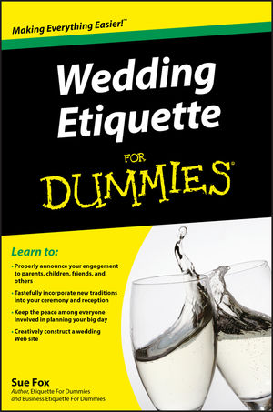 Wedding Etiquette For Dummies (0470502088) cover image