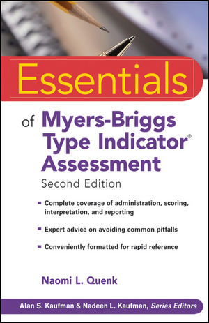 Essentials of Myers-Briggs Type Indicator Assessment, 2nd Edition (0470504188) cover image