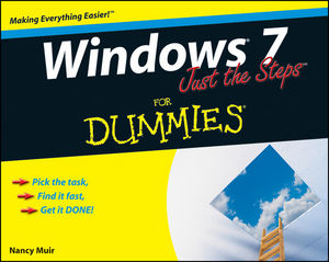 Windows 7 Just the Steps For Dummies (0470554088) cover image