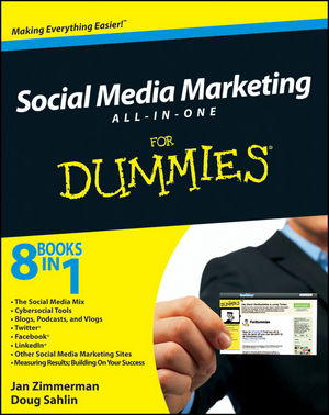 Social Media Marketing All-in-One For Dummies (0470584688) cover image