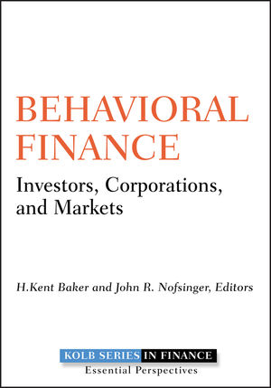 Behavioral Finance: Investors, Corporations, and Markets (0470769688) cover image