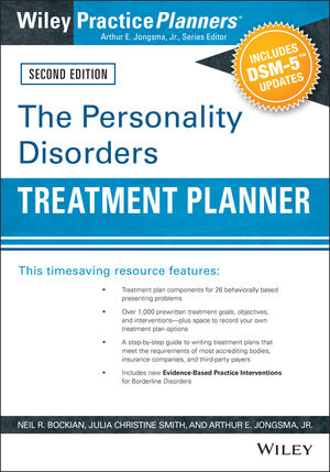 The Personality Disorders Treatment Planner: Includes DSM-5 Updates, 2nd Edition