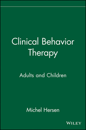Clinical Behavior Therapy: Adults and Children (0471392588) cover image
