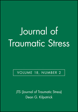 Journal of Traumatic Stress, Volume 18, Number 2 (0471755788) cover image