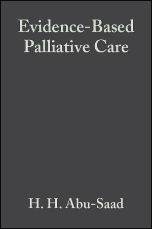 Evidence-Based Palliative Care: Across the Lifespan (0632058188) cover image