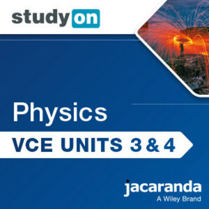 StudyOn VCE Physics Unit 3 & 4 3e (Online Purchase)
