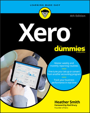 Xero For Dummies, 4th Edition