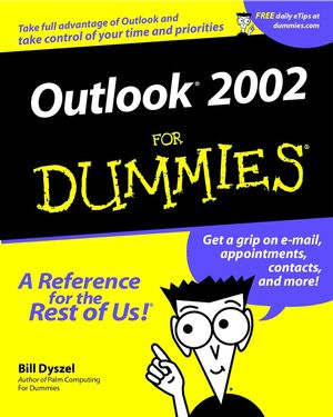 Outlook 2002 For Dummies (0764508288) cover image