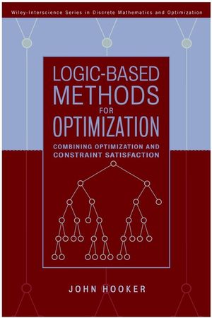 Logic-Based Methods for Optimization: Combining Optimization and Constraint Satisfaction (1118031288) cover image