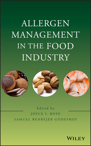 Allergen Management in the Food Industry (1118060288) cover image