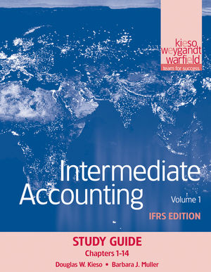 Intermediate Accounting: IFRS Edition, Study Guide Volume I, 1st Edition (1118066588) cover image