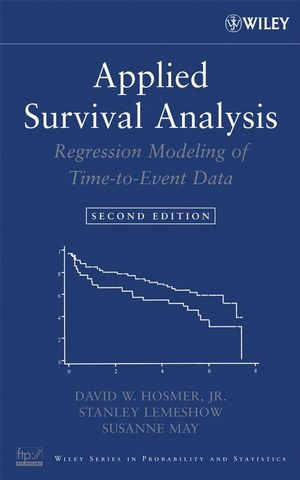 Applied Survival Analysis: Regression Modeling of Time to Event Data, 2nd Edition (1118211588) cover image