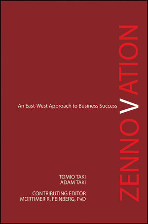 Zennovation: An East-West Approach to Business Success (1118239288) cover image
