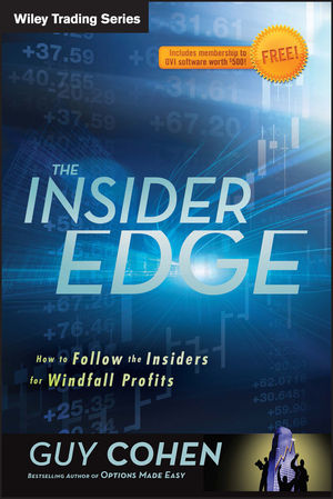 The Insider Edge: How to Follow the Insiders for Windfall Profits (1118245288) cover image