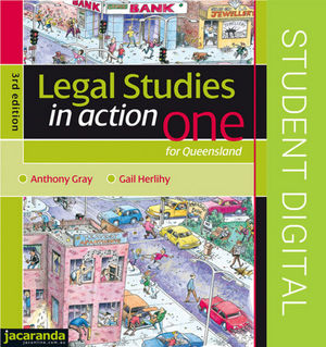 Legal Studies in Action One for Queensland: eBookPLUS (Online Purchase), 3rd Edition