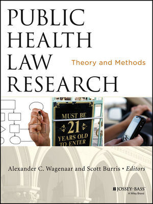 Public Health Law Research: Theory and Methods (1118420888) cover image