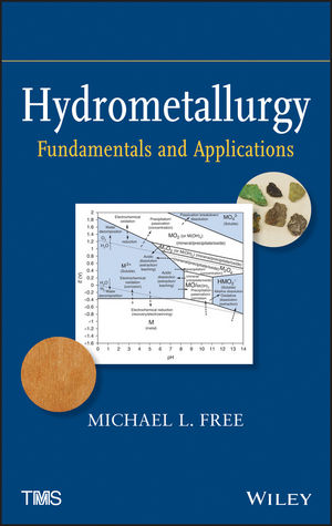 Hydrometallurgy: Fundamentals and Applications (1118732588) cover image