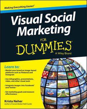 Visual Social Marketing For Dummies (1118753488) cover image