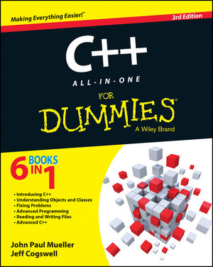 C++ All-in-One For Dummies, 3rd Edition