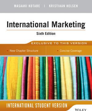 International Marketing, 6th Edition International Student Version