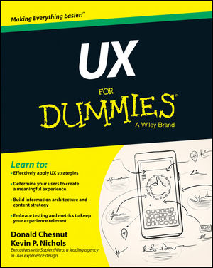 Book Cover Image for UX For Dummies