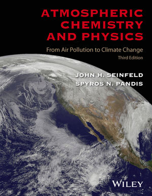 Atmospheric Chemistry and Physics: From Air Pollution to Climate Change, 3rd Edition (1119221188) cover image