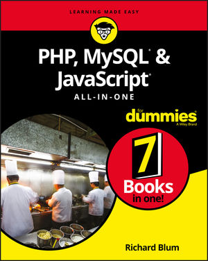 PHP, MySQL, & JavaScript All-in-One For Dummies (1119468388) cover image