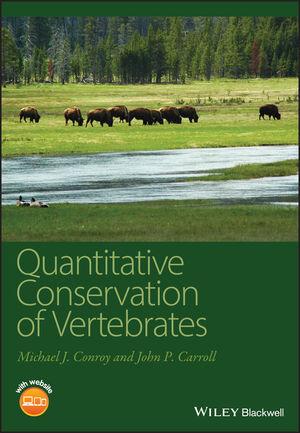 Quantitative Conservation of Vertebrates (1405182288) cover image