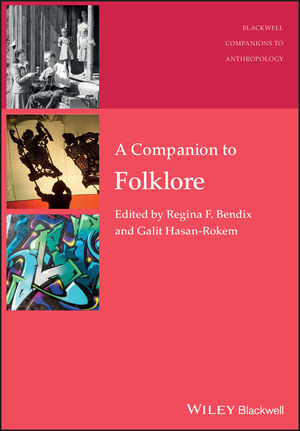 A Companion to Folklore (1444354388) cover image