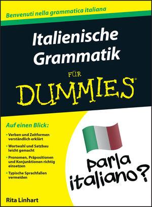 Italienische Grammatik für Dummies