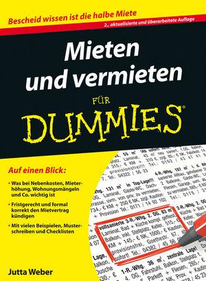 Mieten und Vermieten für Dummies, 2. Auflage