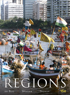 Geography: Realms, Regions and Concepts, 15th Edition (EHEP002088) cover image