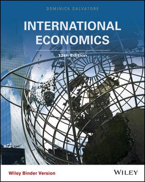 International Economics, 12th Edition (EHEP003388) cover image